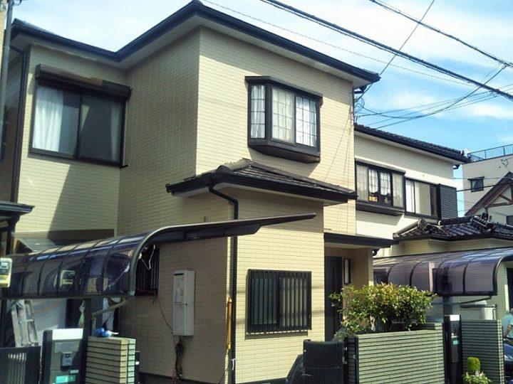 外壁の色を塗り替え、屋根塗装 堺市 K様邸
