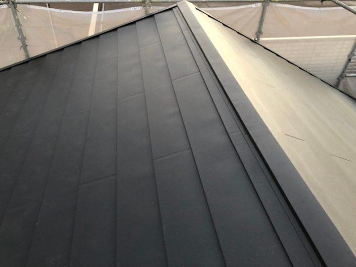 屋根カバー工法(重ね葺き)と外壁塗装 堺市 T様