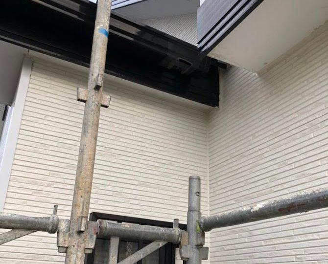 雨漏りの原因を調査してサイディング改修 堺市 T様