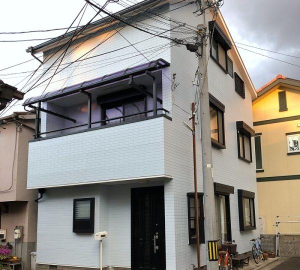築16年 ラジカル塗料で外壁塗り替えとカラーベスト塗装 堺市S様