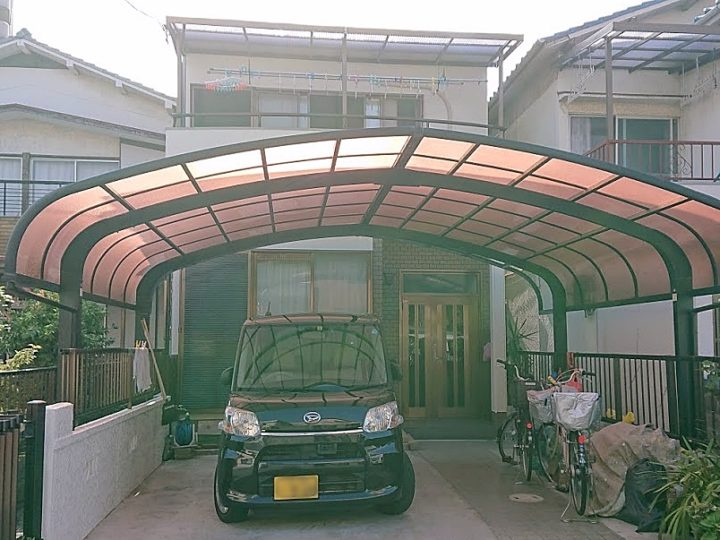 築24年 水性シリコン塗料で外壁塗装と屋根塗装 堺市K様