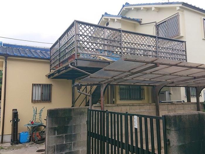 モルタル外壁の浮き補修・塗装で施工不備を解消 堺市T様