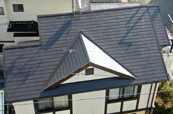 関西ペイントの高級シリコン塗料で外壁と屋根塗装 堺市T様