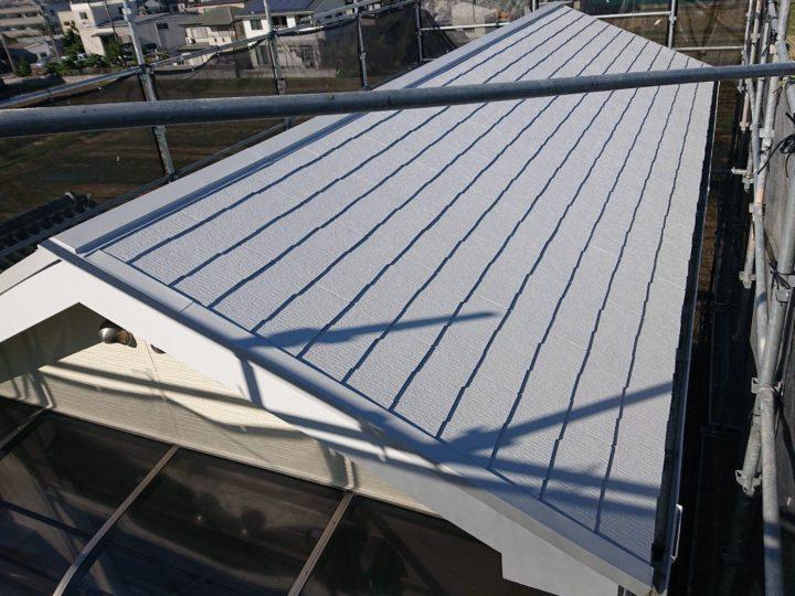 屋根塗装 完了!