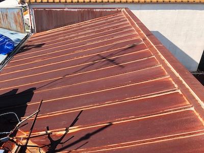 トタン屋根の現状