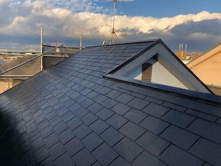 屋根板金の修理と同時に、スレート屋根・外壁リフォーム 堺市M様