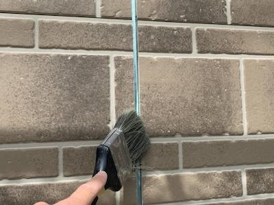 外壁目地シーリング 清掃