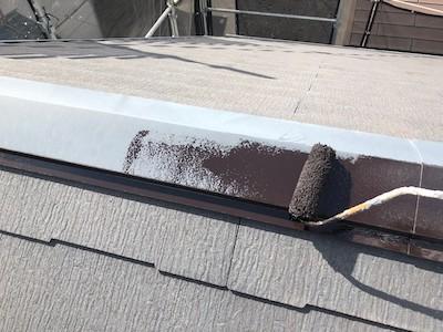 屋根 板金防錆処理