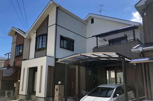 サイディング外壁のおしゃれさを最大限にいかした塗り替えで大変身! 堺市Y様邸