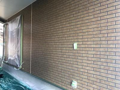 外壁塗装(1階)施工前