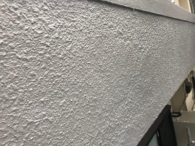 外壁浮き補修 塗装完了