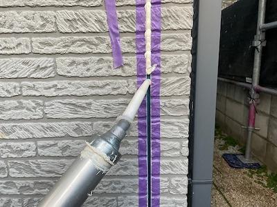 外壁目地シーリング 充填