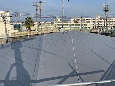 スレート屋根塗装 完了
