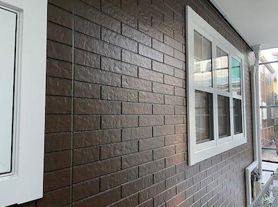 外壁塗装マーブルトーン工法 完了