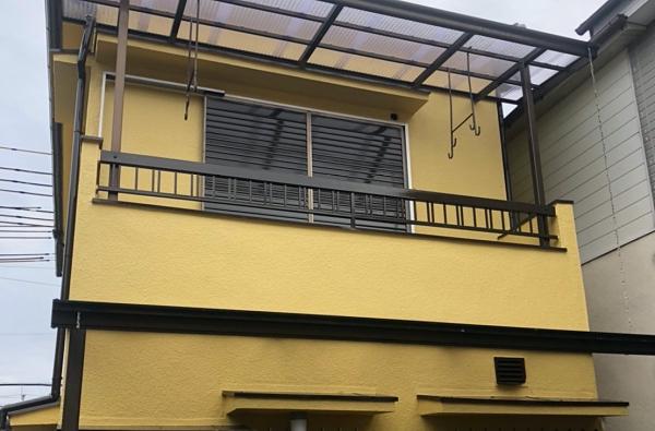シリコンよりも耐久性の高いラジカル塗料で外壁塗装 堺市中区