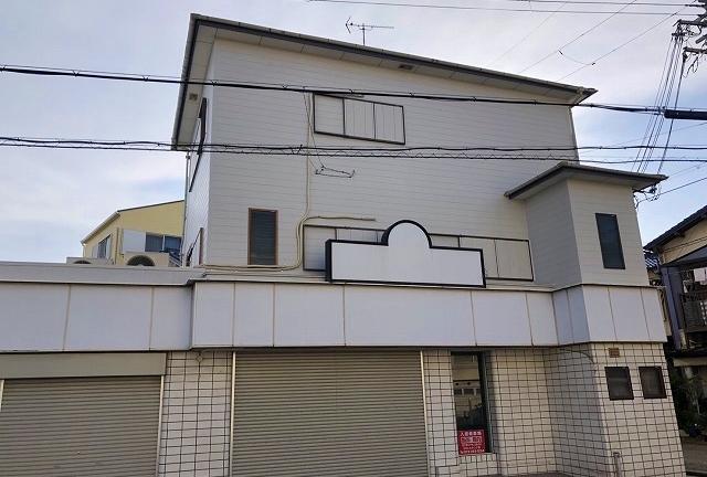 折半屋根にガイナ塗装して夏の暑さと省エネ対策 堺市東区