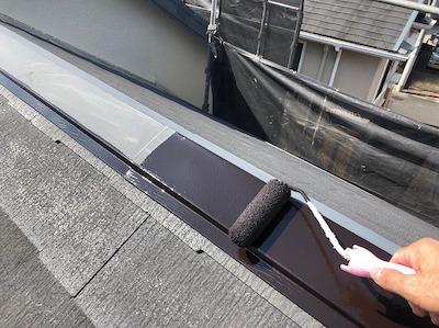屋根板金 防錆塗装