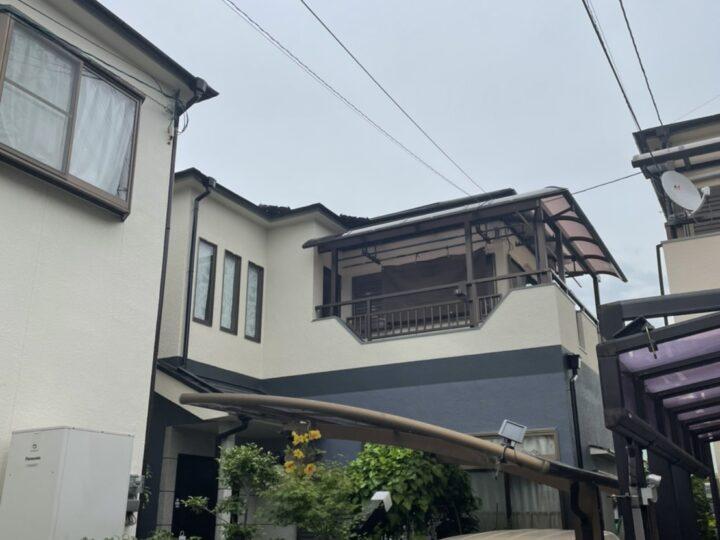 下塗り2回上塗り2回。計4回!? | 堺市の外壁塗装専門店 千成工務店