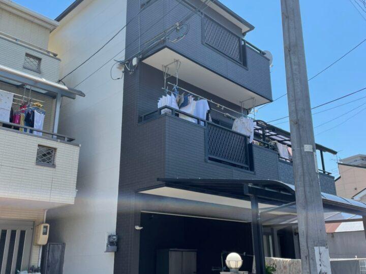 サイディング2トーン外壁塗装 | 堺市の外壁塗装専門店 千成工務店