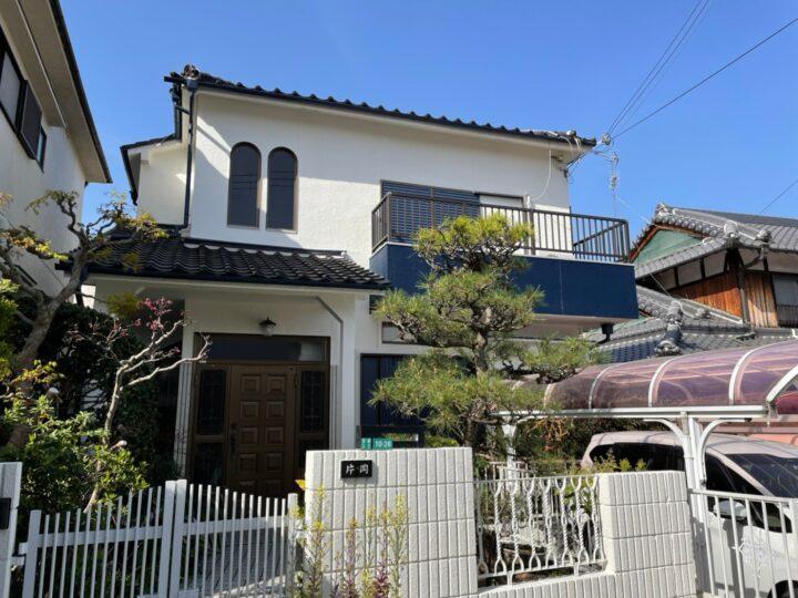 和風のお家→北欧オシャレハウス!? | 堺市の外壁塗装専門店 千成工務店